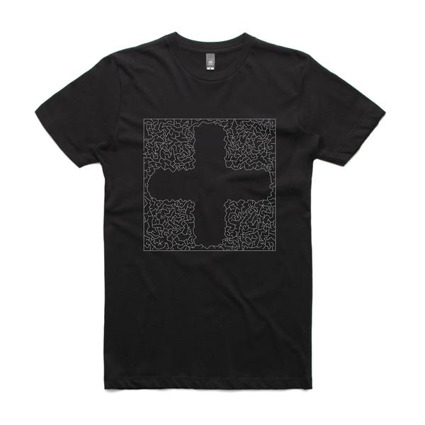 Black maze 5002 paper tee black 7