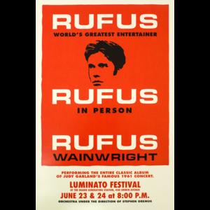 Rufus Does Judy - 2016 Toronto Poster thumb