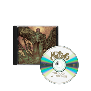 Mortuous: Through Wilderness CD thumb