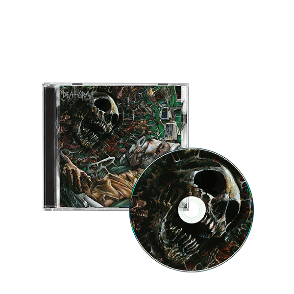 Deathgrave so real its now cd mockup