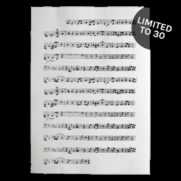 Luc handwrittenmusicpage