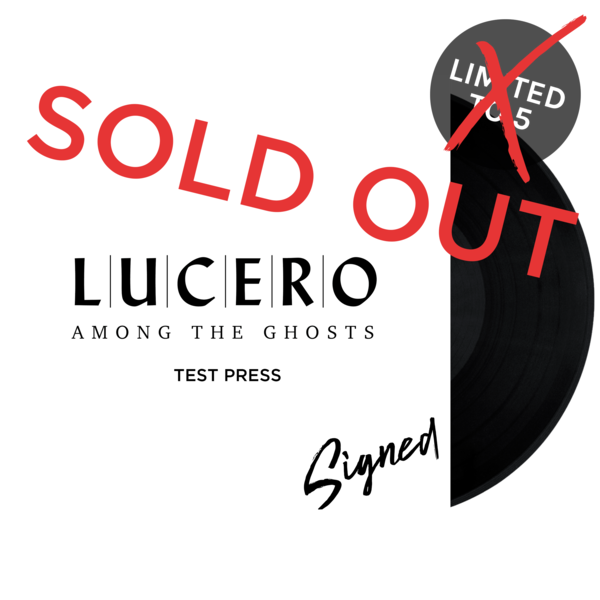 Luc amongtheghosts testpress soldout lp 2