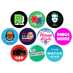 The Ringer Podcast Network Sticker 10-pack thumb