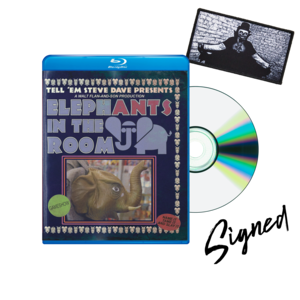 [SIGNED] TESD Presents: Elephants In The Room Blu-ray + Patch thumb