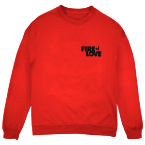 Fire of Love Crewneck (Red) thumb