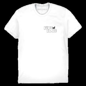 Fire of Love T-shirt (White) thumb