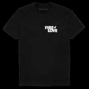 Fire of Love T-shirt (Black) thumb