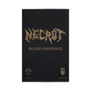 Necrot: Blood Offerings Deluxe Cassette Tape thumb