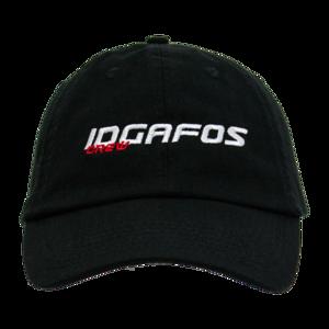 IDGAFOS Racer Crew Dad Hat (Black) thumb