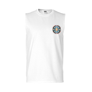 Flow State Sleeveless Tee (White) + Album thumb