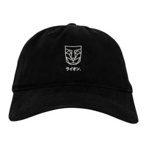 [PRE-ORDER] LIONE Dad Hat / Black (Ships week of Aug. 6th, 2018) thumb