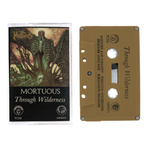 Mortuous: Through Wilderness Cassette Tape thumb