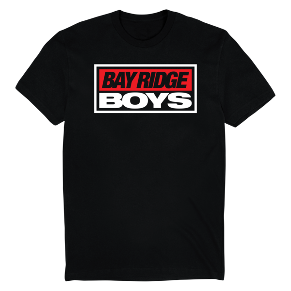 Bay ridge boys logo tee black