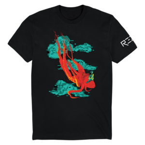 Flying Octopus T-Shirt thumb