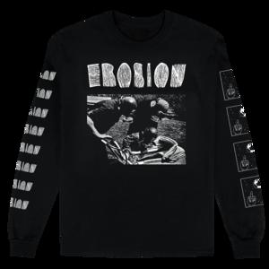 [PRE-ORDER] Erosion: Maximum Suffering Longsleeve T-shirt (Ships week of Oct. 19th, 2018) thumb