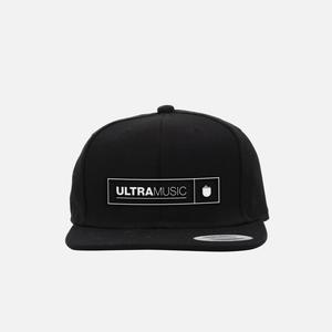 Ultra Music Black Snap Back Hat thumb