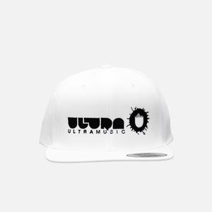 Ultra Music White Snap Back Hat thumb