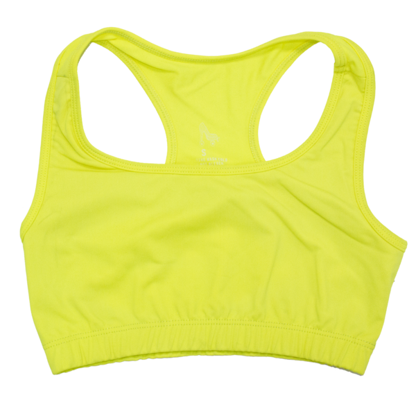 Yellowsportsbra