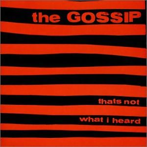 Gossip: That's Not What I Heard CD | DIGI | Vinyl LP thumb