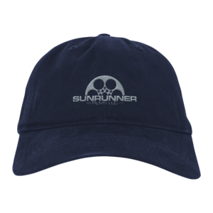 Sunrunner Navy Dad Hat thumb