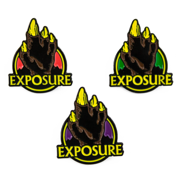Exposure enamelpins