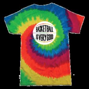 Basketball Is Very Good: Palooza Edition Tie-Dye Tee thumb