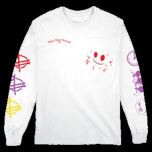 Party Longsleeve (White) T-Shirt thumb