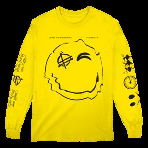 Happy Longsleeve (Yellow) T-Shirt thumb
