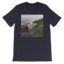 Front crop mockup front flat navy
