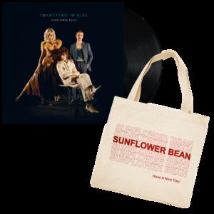 Sunflower Bean: TwentyTwo In Blue Vinyl LP + Tote Bag thumb