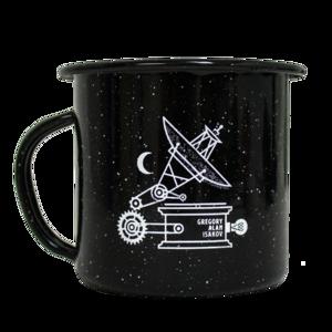 Satellite Enamelware Camping Mug thumb