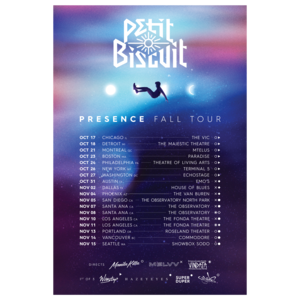 Petit Biscuit North America Presence Tour Poster thumb