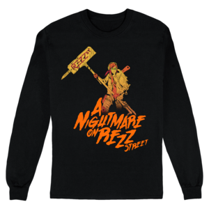 Nightmare on Rezz Street Longsleeve Tee  thumb