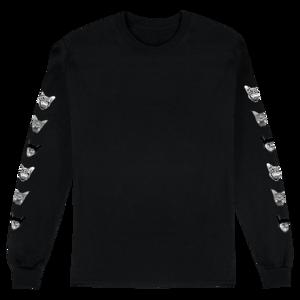 Seafox Longsleeve (Black) T-shirt thumb