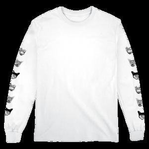 Seafox Longsleeve (White) T-shirt thumb