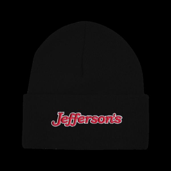 Jeffersons black beanie 1