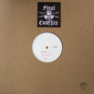 Final Conflict Test Press Vinyl LP thumb