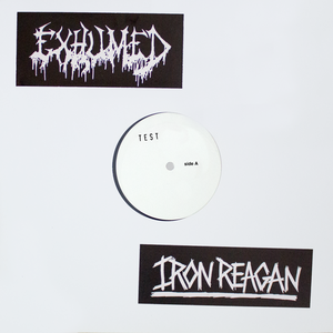 Exhumed / Iron Reagan Test Press Vinyl LP thumb