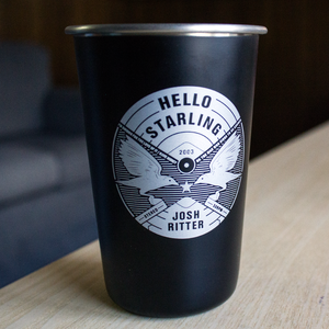Hello Starling Stainless Steel Pint thumb