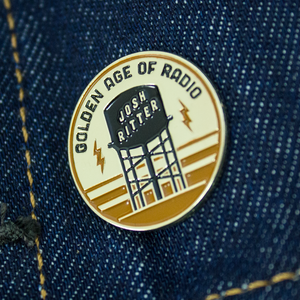 Golden Age of Radio Enamel Pin thumb