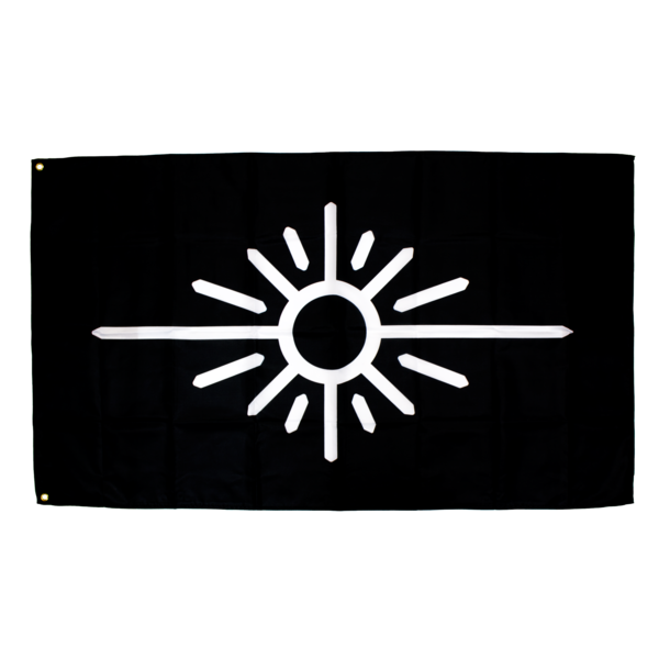 Black Flag w/ White Sun Logo | Petit Biscuit | Online Store