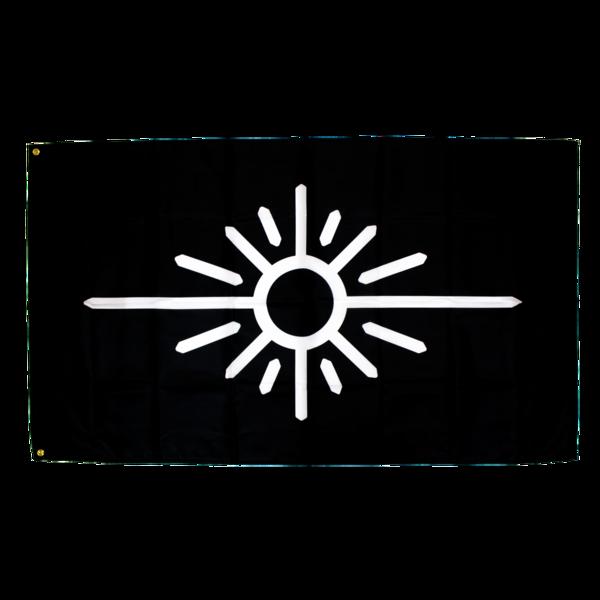 Blackwhite flag 1