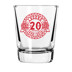 20th Anniversary Shot Glass thumb