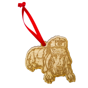 Sad Puppy Holiday Ornament thumb