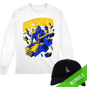 Glass Mansion Character Long Sleeve + Logo Hat BUNDLE thumb