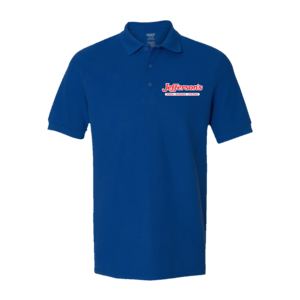 Logo Polo Shirt (Blue) thumb