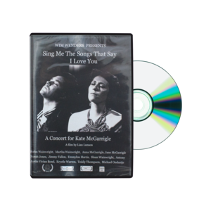 Sing Me The Songs That Say I Love You DVD thumb
