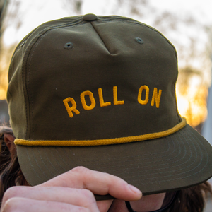 Roll On Embroidered Hat thumb