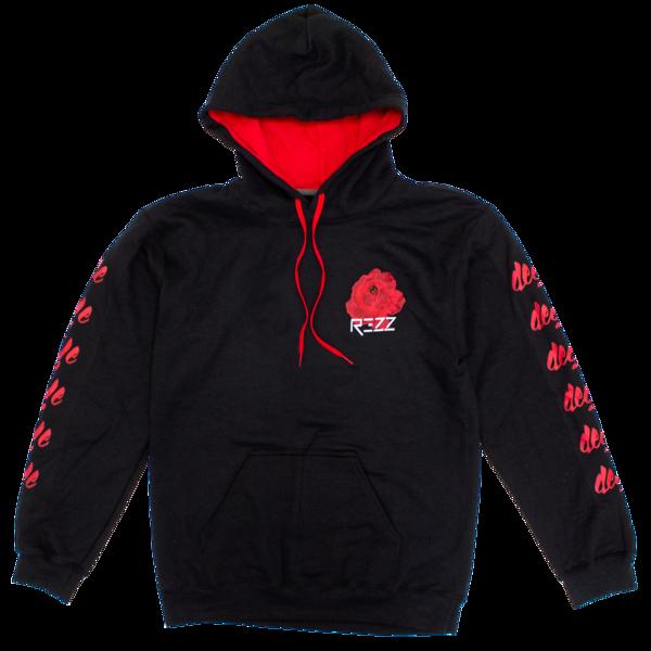Rezz hoodie front