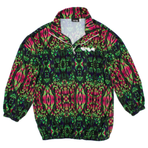Floral Coral Windbreaker thumb